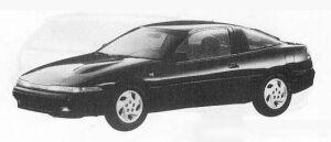 Mitsubishi Eclipse DOHC GS 1990 г.