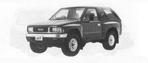 Isuzu Mu METAL TOP XS BRIGHT TURBO DIESEL 1990 г.