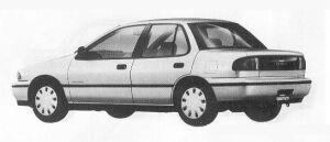 Isuzu Gemini SEDAN C/C TURBO DIESEL 1990 г.