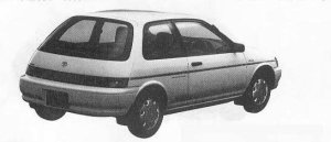 Toyota Corolla II 3DOOR 1300 WINDY 1990 г.