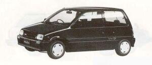 Daihatsu Mira J-TYPE P 1990 г.