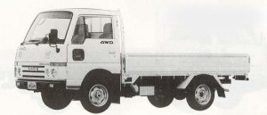 Nissan Atlas 4WD 1.5T LONG FULL SUPER LOW 1990 г.