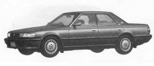 Toyota Chaser 2.5 1990 г.