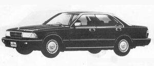 Nissan Gloria 4DOOR V20 TWIN CAM TURBO 1990 г.