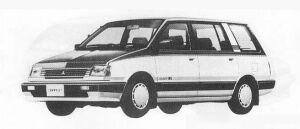 Mitsubishi Chariot 1800 MX 1990 г.