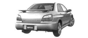 Subaru Impreza Sedan WRX 2004 г.