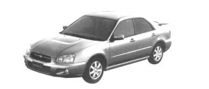 Subaru Impreza Sedan 15i 2004 г.