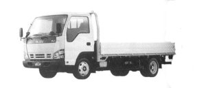 Isuzu Elf Smoother-E, Wide Cab, Flat Low, Long Bod 2004 г.