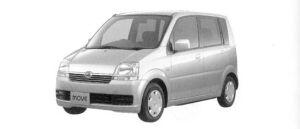 Daihatsu Move L Limited 2WD 2004 г.