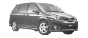 Mazda MPV Aeroremix (V6 3.0L) 7-seaters, FF 2004 г.