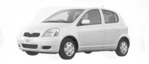 "Toyota Vitz 1.3U ""L Package"" 2004 г."