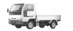 Nissan Atlas 10 Full Super Low Long Body, Wooden Carrier 2004 г.