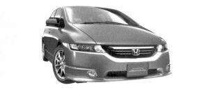Honda Odyssey Absolute FF 2004 г.