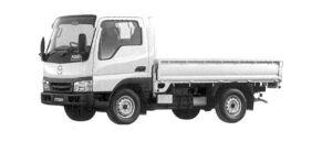Mazda Titan DASH 2WD Single Wide & Low, 2000 Gasoline, DX 2004 г.