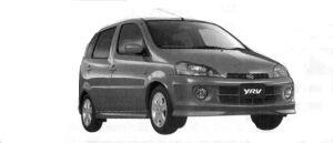 Daihatsu Yrv X 2WD 2004 г.