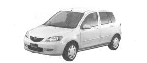 Mazda Demio 1300 Cozy e-4WD 2004 г.