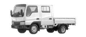 Mazda Titan DASH 2WD Wide & Low, W-Cab, 2000 Gasoline, DX 2004 г.