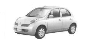 Nissan March 5 door 14e 2004 г.