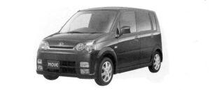 Daihatsu Move CUSTOM X Limited 2WD 2004 г.