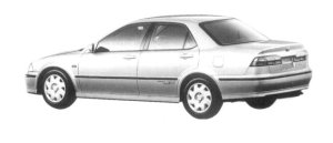 Honda Torneo 2.0LEV 1997 г.