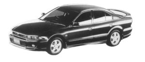 Mitsubishi Galant VR-4 1997 г.