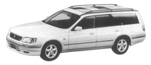 Nissan Stagea 25RS 1997 г.