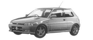 Daihatsu Charade DETOMASO 1997 г.