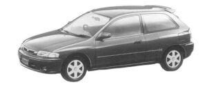 Mazda Familia HATCHBACK INTERPLAY X 1500 1997 г.