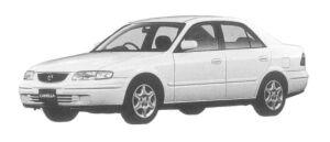 Mazda Capella Fi 4WD 1997 г.