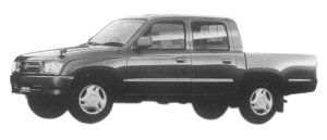 Toyota Hilux SPORTS PICK UP 4X2 W CAB, NORMAL BODY 1997 г.