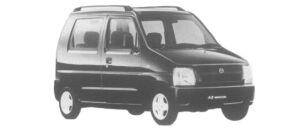 Mazda AZ-Wagon ZX 2WD 1997 г.