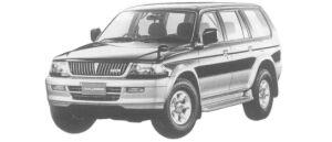 Mitsubishi Challenger X 1997 г.