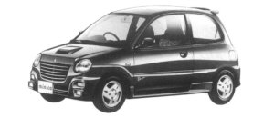 Mitsubishi Minica 3DOOR DANGAN 1997 г.