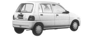 Daihatsu Mira MODERNO CG 4WD 1997 г.