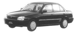 Daihatsu Charade SOCIAL POSE 5DOOR 1997 г.