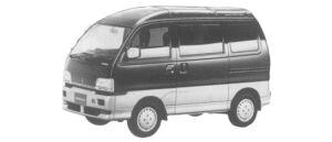 Mitsubishi Bravo 4WD SUPER EXCEED SUPER AERO ROOF 1997 г.