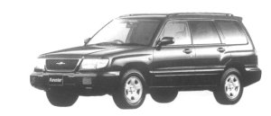 Subaru Forester C/20 1997 г.