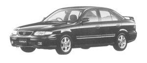Mazda Capella Zi-R 1997 г.