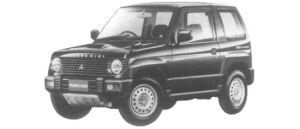 Mitsubishi Pajero Mini VR-I 4WD 1997 г.