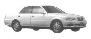 Toyota Cresta 3.0 EXCEED G 1997 г.