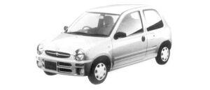 Mazda Carol MELADY 1997 г.
