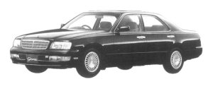 Nissan Gloria V30 TWINCAM TURBO BRAUHAM VIP 1997 г.