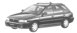 Subaru Impreza SPORTS WAGON GB 1997 г.