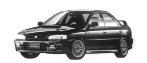 Subaru Impreza PURE SPORTS SEDAN WRX STi Ver.IV 1997 г.