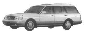 Toyota Crown STATION WAGON 2500 ROYAL SALOON 1997 г.