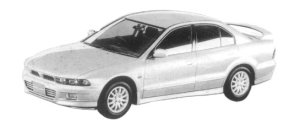 Mitsubishi Galant VR-G TOURING 1997 г.