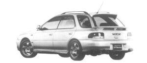 Subaru Impreza SPORTS WAGON WRX STi  Ver.IV 1997 г.