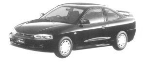 Mitsubishi Mirage Asti Z 1997 г.