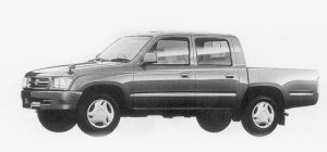Toyota Hilux SPORTS PICK UP 2WD DOUBLE CAB 2.0 GAS. 1999 г.