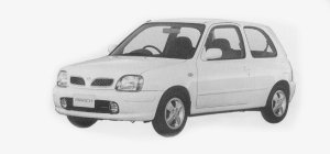 Nissan March 3DOOR 1300 G# 1999 г.
